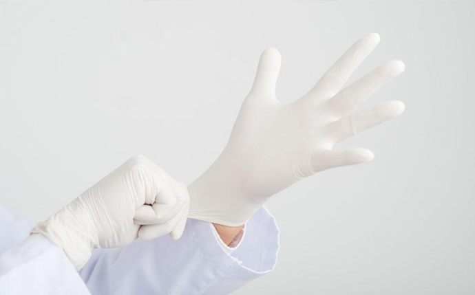 Classification of medical gloves